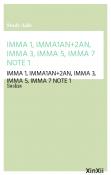 IMMA 1, IMMA1AN+2AN, IMMA 3, IMMA 5, IMMA 7 NOTE 1