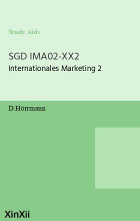 SGD IMA02-XX2