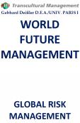 WORLD FUTURE MANAGEMENT