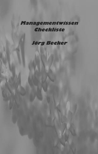 Managementwissen Checkliste