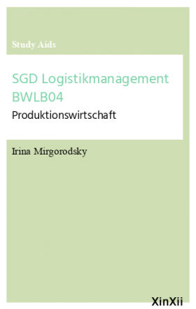 SGD Logistikmanagement BWLB04