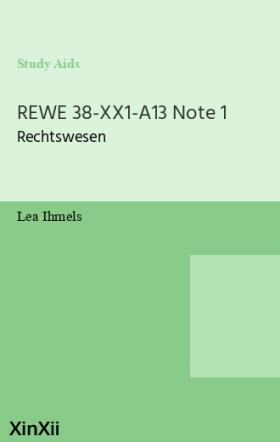 REWE 38-XX1-A13 Note 1