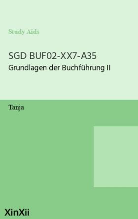 SGD BUF02-XX7-A35