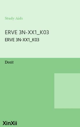 ERVE 3N-XX1_K03