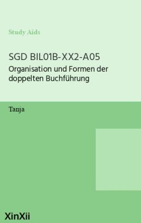 SGD BIL01B-XX2-A05