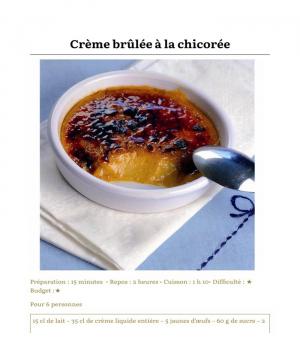Les crèmes dessert