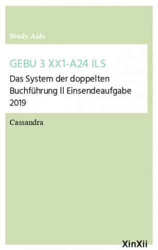 GEBU 3 XX1-A24 ILS