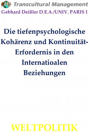 Die tiefenpsychologische Kohärenz und Kontinuität-Erforderni