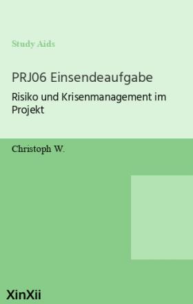 PRJ06 Einsendeaufgabe