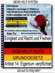 NEWS PRESS SOS HELP? So hilfst Du richtig o. Verwaltungskosten