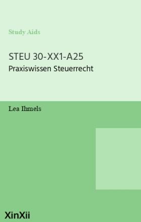 STEU 30-XX1-A25