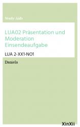 LUA02 Präsentation und Moderation Einsendeaufgabe