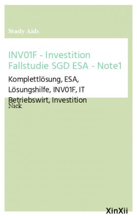 INV01F - Investition Fallstudie SGD ESA - Note1