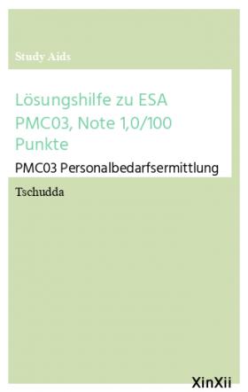 Lösungshilfe zu ESA PMC03, Note 1,0/100 Punkte