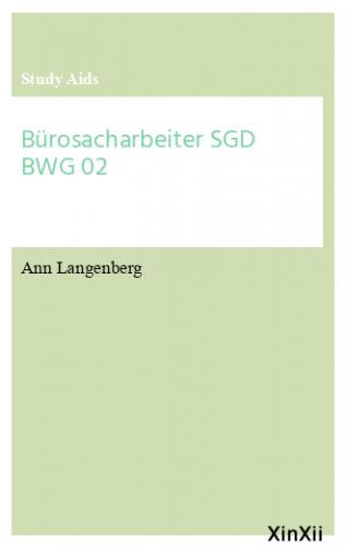 Bürosacharbeiter SGD BWG 02