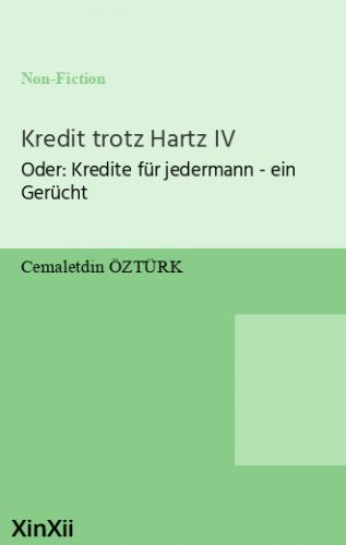 Kredit trotz Hartz IV