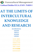 AT THE LIMITS OF INTERCULTURAL KNOWLEDGE AND RESEARCH