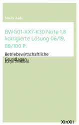 BWG01-XX7-K30 Note 1,8 korrigierte Lösung 06/19,  88/100 P.