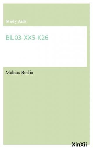 BIL03-XX5-K26