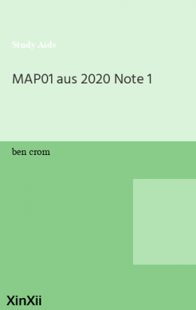MAP01 aus 2020 Note 1