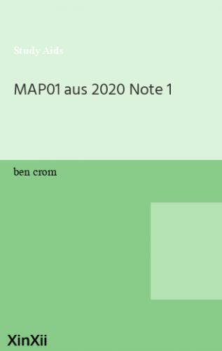 MAP01 aus 2020 Note 1