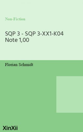 SQP 3 - SQP 3-XX1-K04 Note 1,00