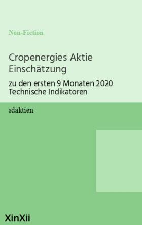 Cropenergies Aktie Einschätzung