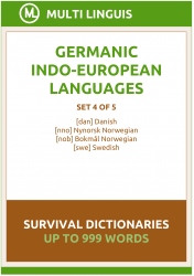 Germanic Languages Survival Dictionaries