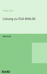 Lösung zu ESA BWL06