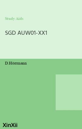 SGD AUW01-XX1