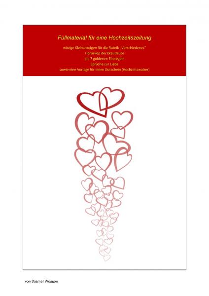 Hochzeitszeitung beispiele kleinanzeigen lustige Steckbrief hochzeitszeitung