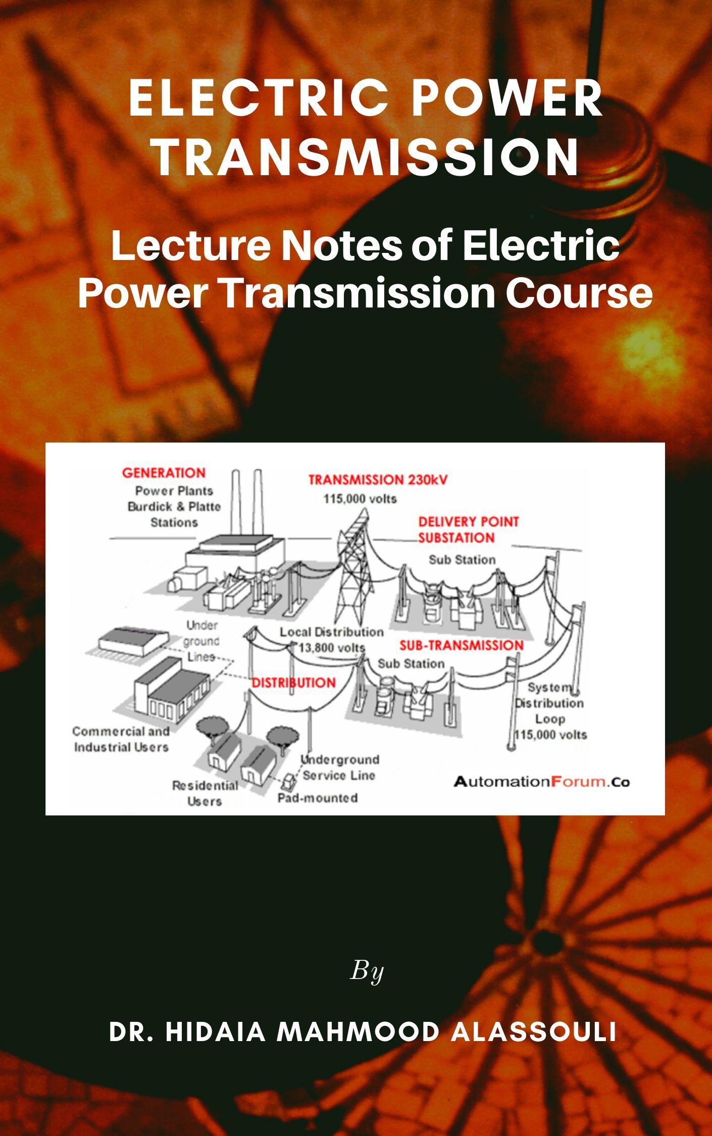 Electrical Power Transmission Ebook By Dr Hidaia Mahmood Alassouli Xinxii Gd Publishing Ltd Co Kg